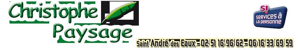 Christophe Paysage – Paysagiste Saint André des eaux – La Baule  – Saint Nazaire
